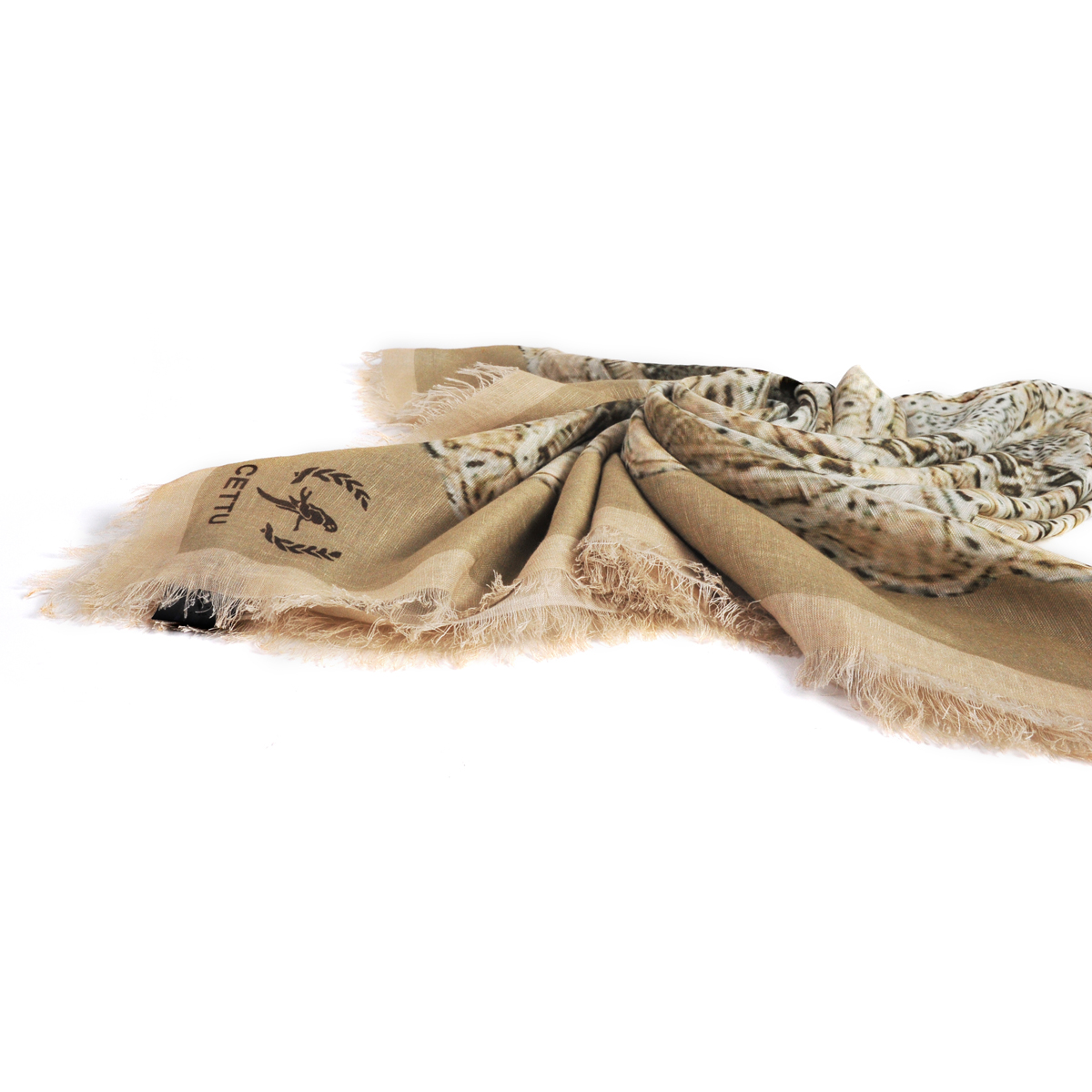 [ACCESSORIES / SCARF ] LACE (NATURAL / MADE IN ITALY)