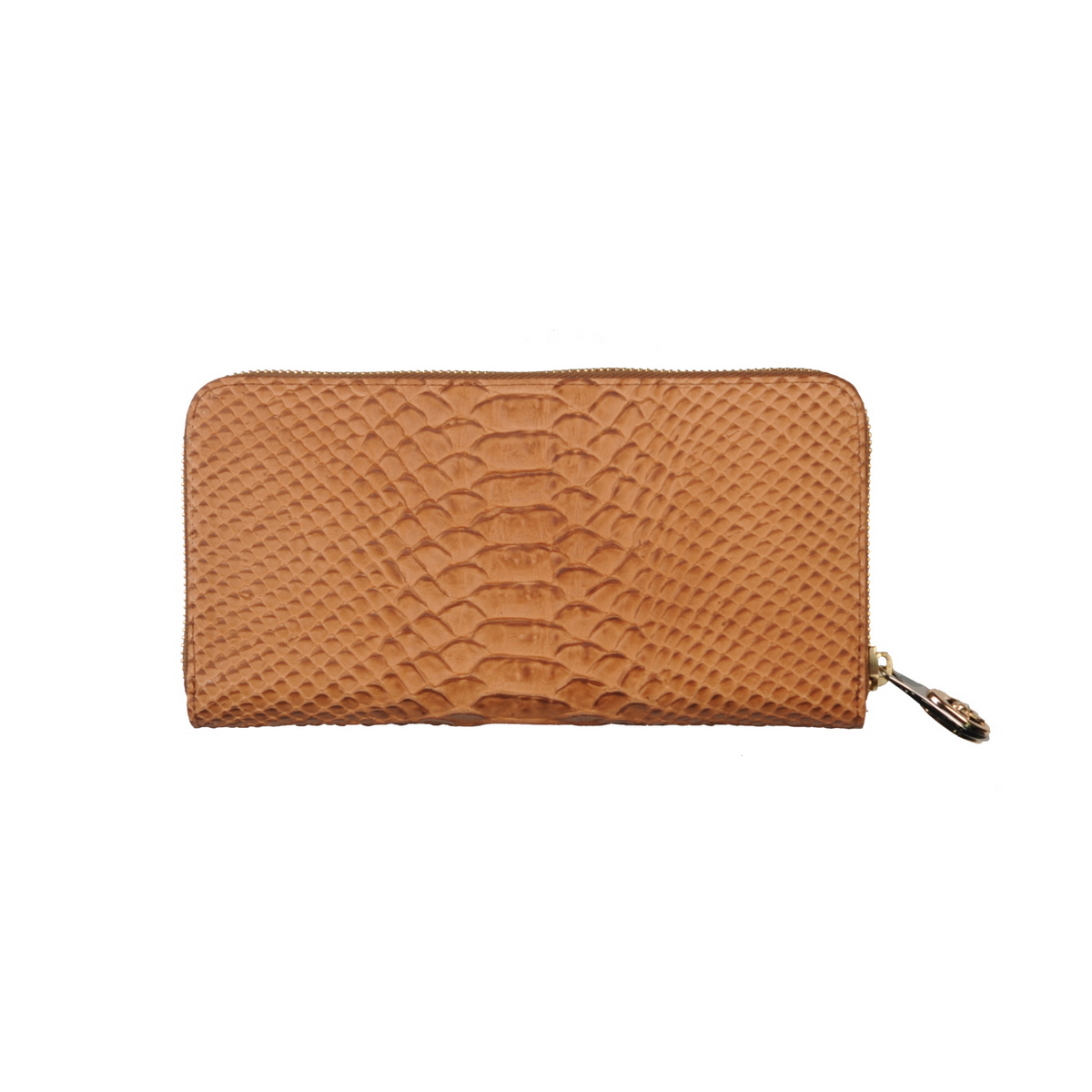 [ACCESSORIES /  WALLET ] Zip Wallet  (WILD SNAKE / CAMEL)