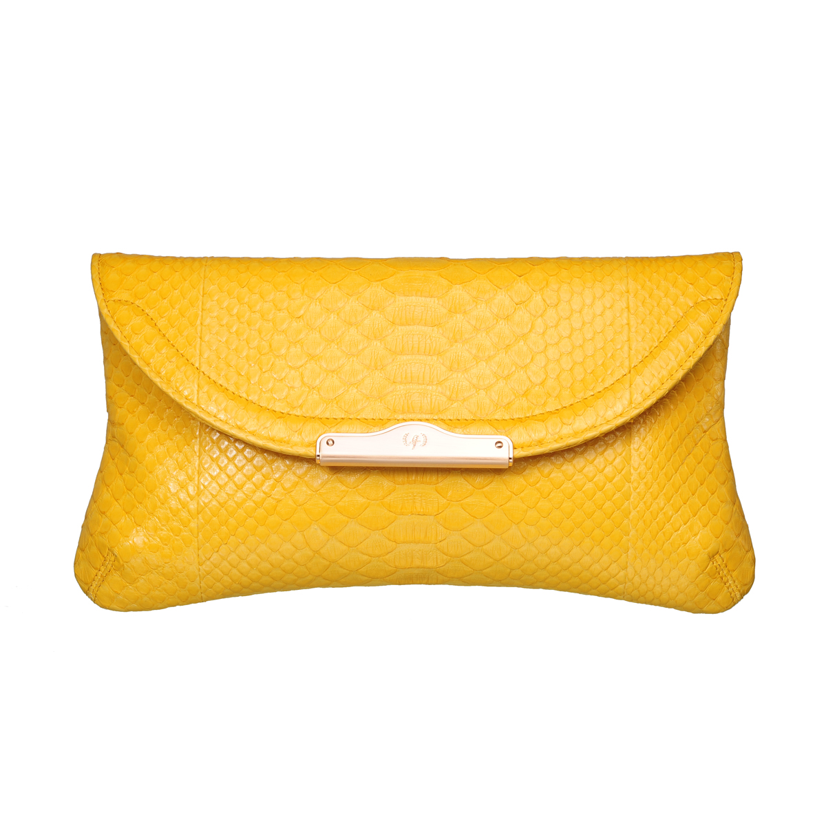 [CLUTCH] CHLOE (REAL PYTHON / YELLOW)