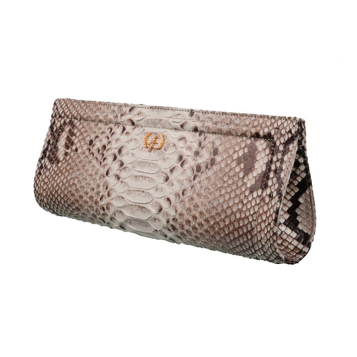 [CLUTCH] HELLEN  (REAL PYTHON / TWO TONE NATURAL)