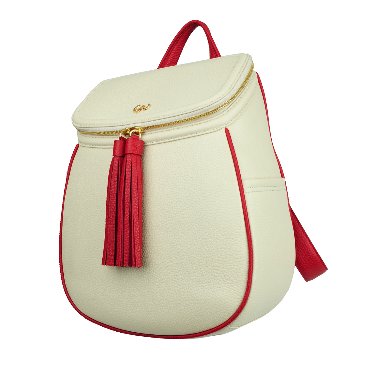 [OTHER] KAREN BACKPACK (PEBBLE & IVORY)