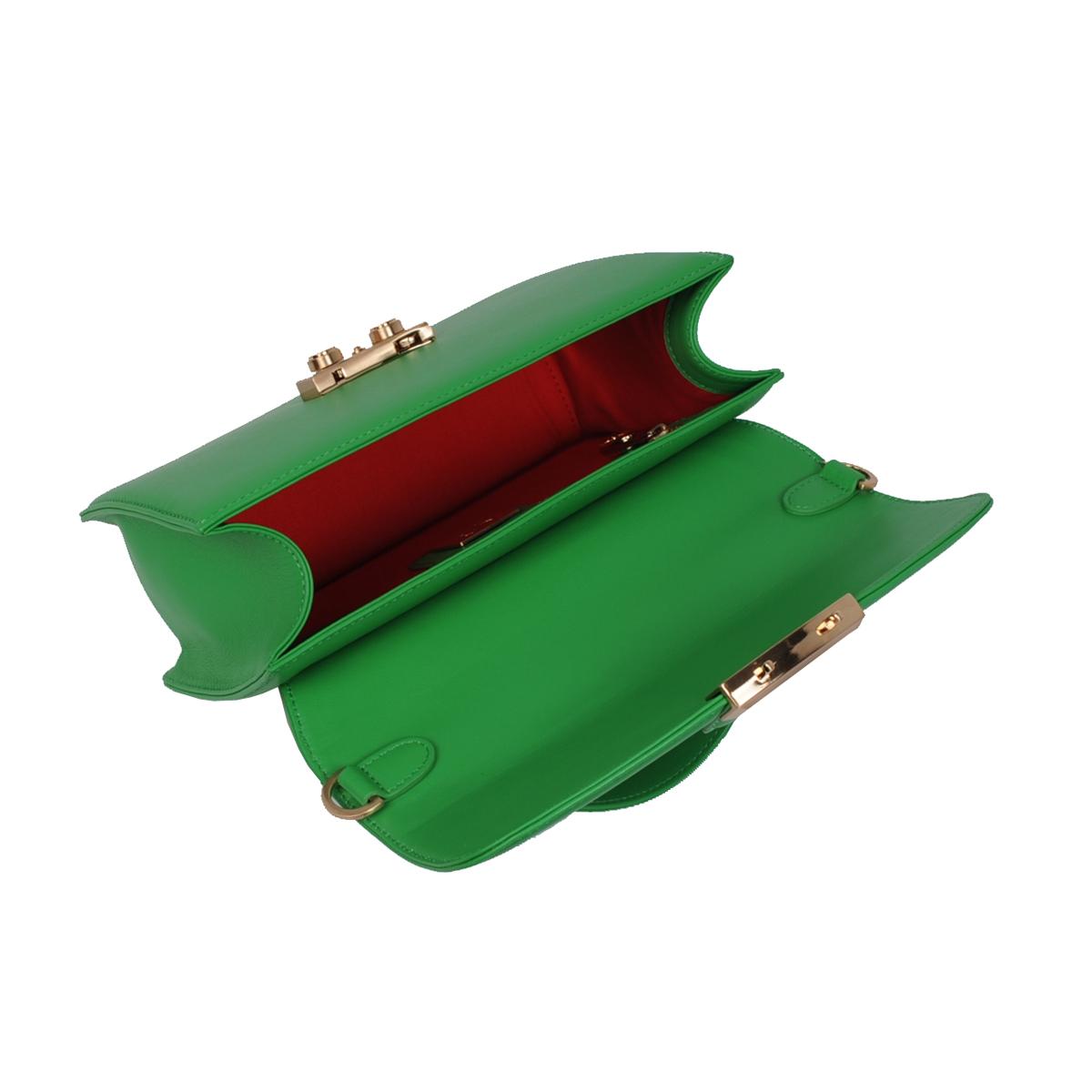 (SHOULDER BAG) BLAIR (CASUAL NAPPA / LIGHT GREEN)