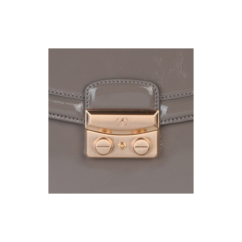 (SHOULDER BAG) BLAIR (PATENT / GREY)