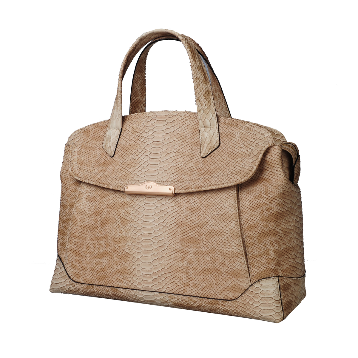 [TOTE] MONICA (WILD SNAKE / NATURAL)
