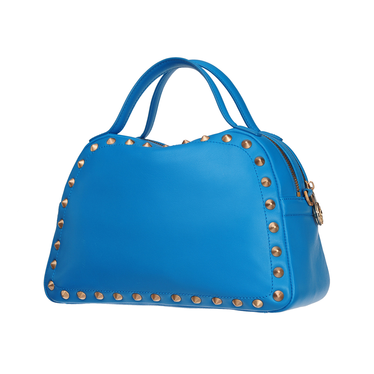 [SATCHEL] CAROLE MINI  (CASUAL NAPPA / AQUA)